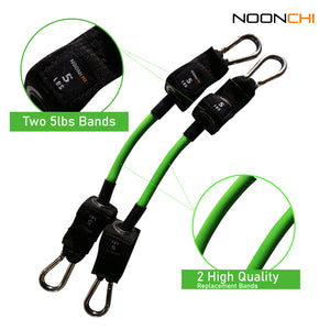 Noonchi replacement 5 lb band set