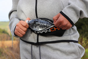 Noonchi Ultra stretch waist pack-Black