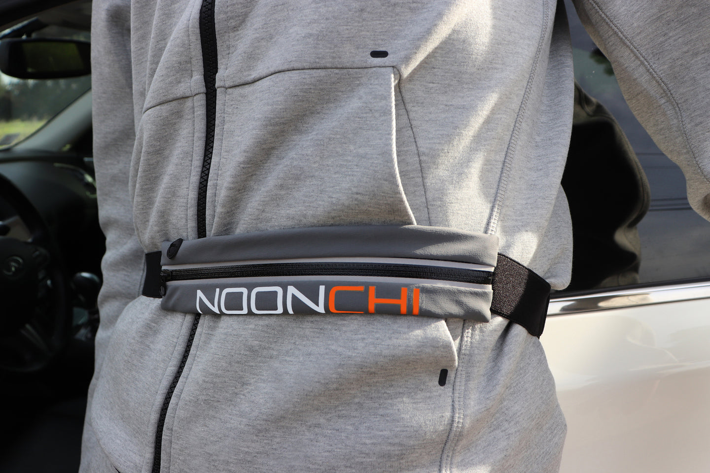 Noonchi Ultra stretch waist pack-Gray
