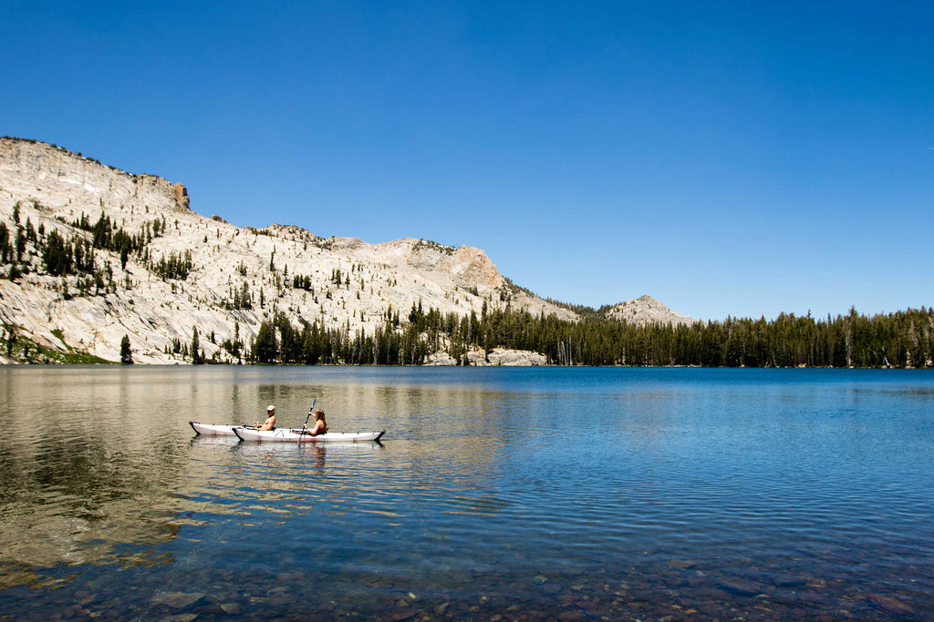 Paddling Yosemite High Country