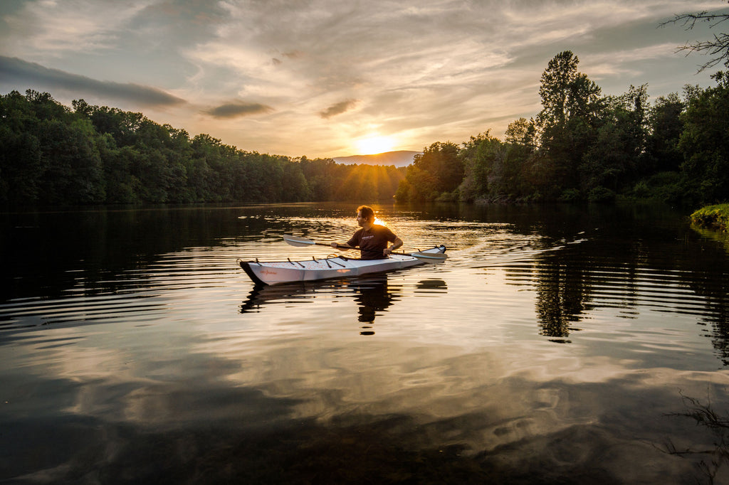 Catching the Last Rays of Summer in an Oru Kayak