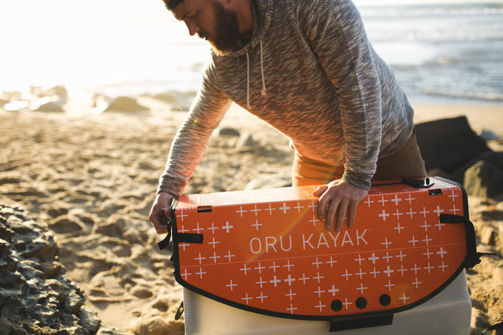 Setting up Oru Kayak