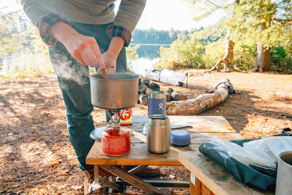 Kayak cooking