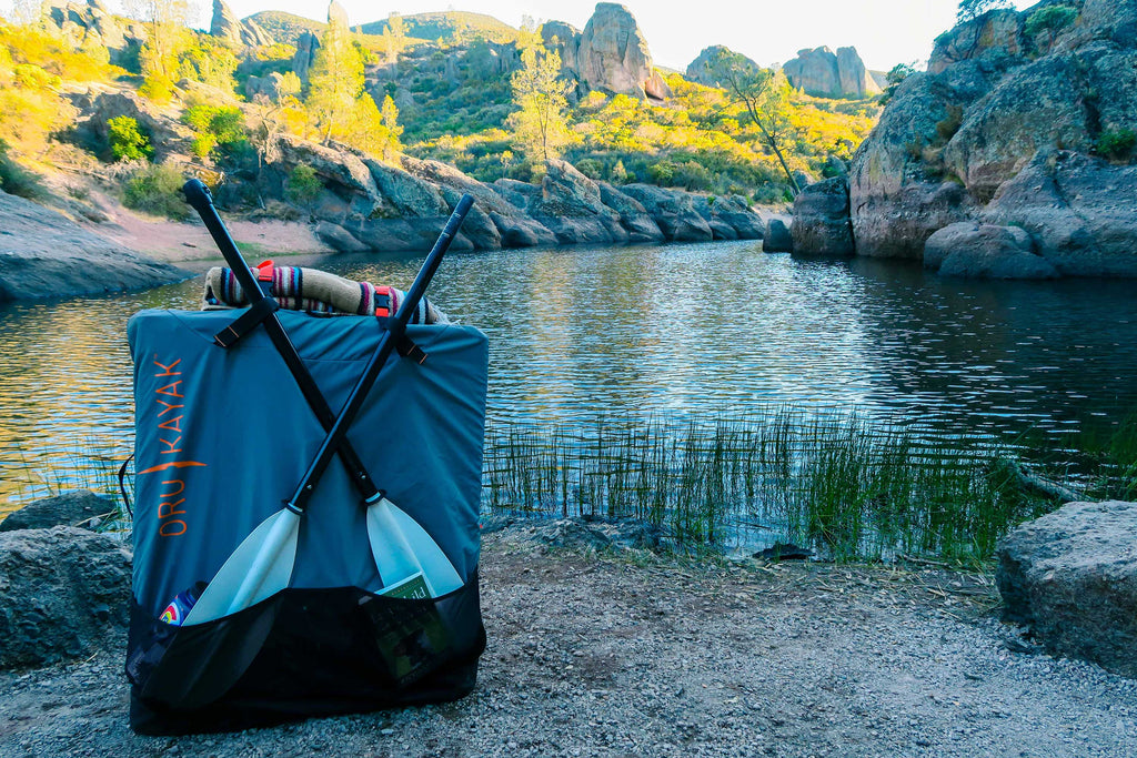 Backpacking with Oru Kayaks