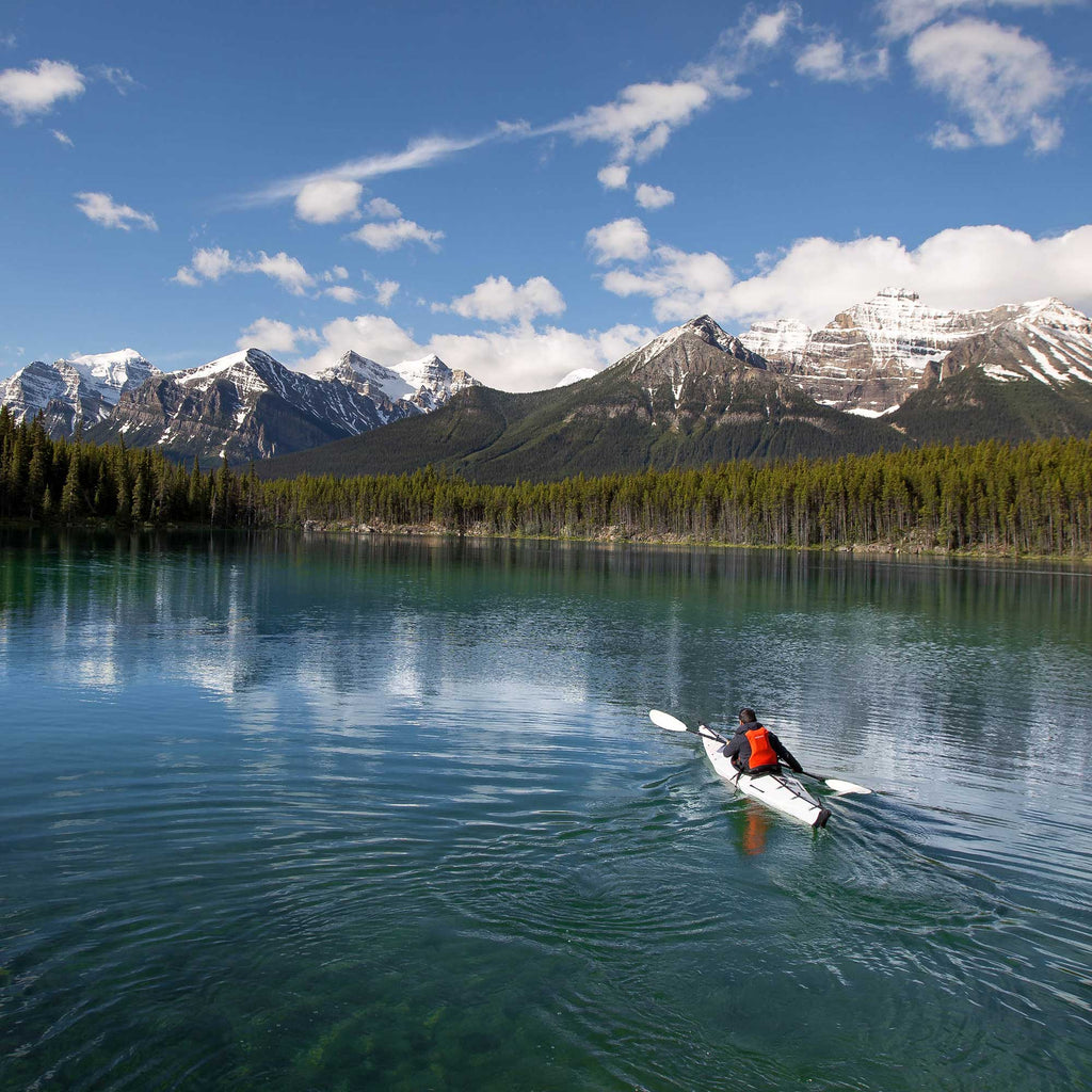 Bluebird Kayaking in Northern Canada