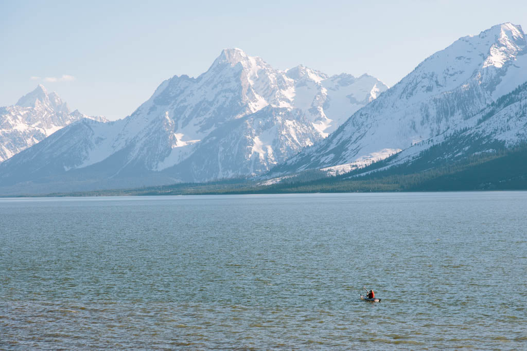 Paddling in National Parks