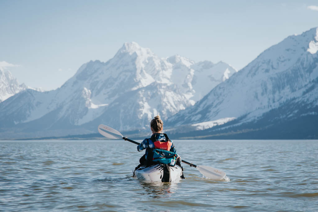 Mountain kayaking