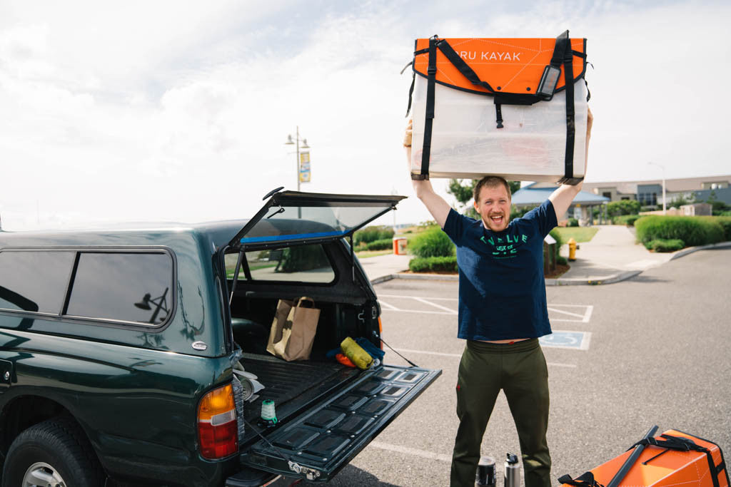 Packing Oru Kayak in a truck