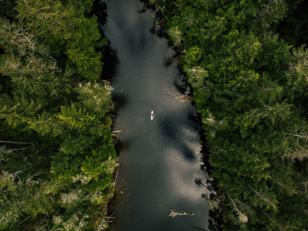 Small Oru Kayak in a big lake