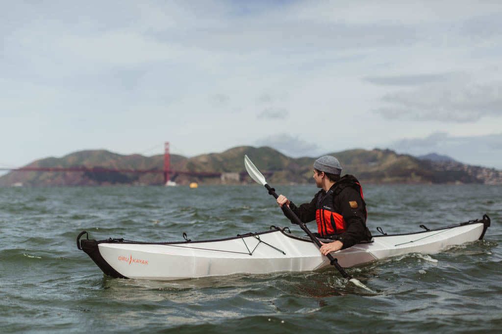 Kayaking in San Francisco Bay