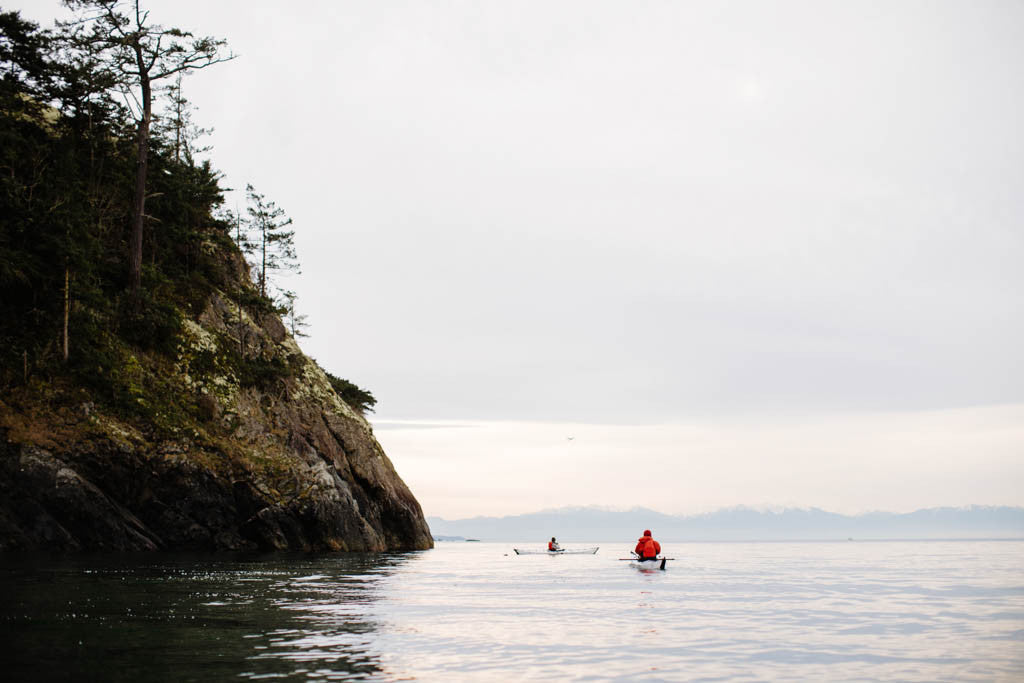 Kayaking at Deception Pass