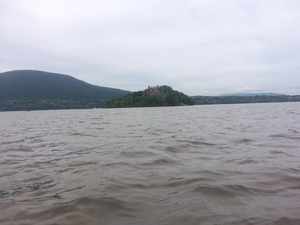Hudson River with Oru Kayak