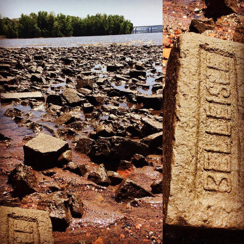 Bricks on the Hudson River