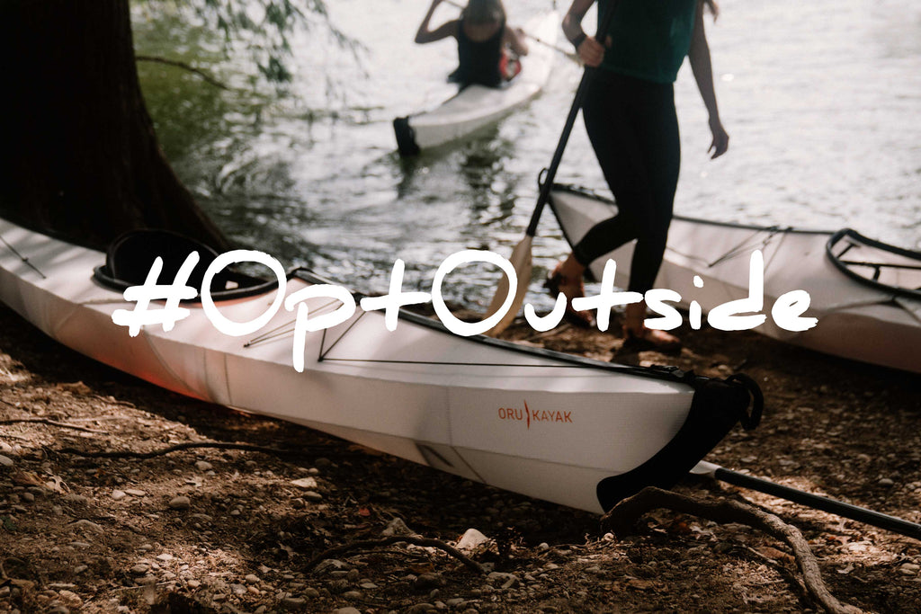 Oru Kayak decides to #OptOutside
