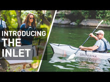 Inlet Portable Folding Recreational Kayak for Beginners