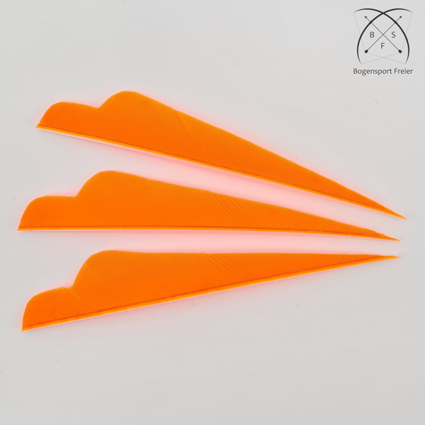 Sturmvogel-Feder Hunter RW - neon orange