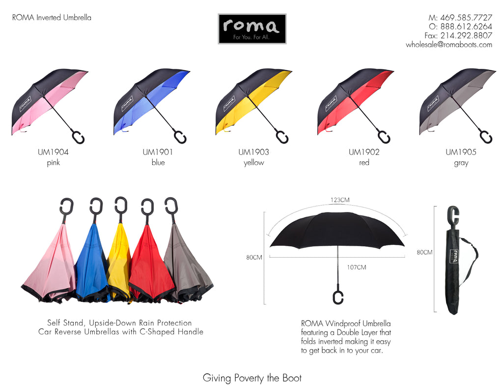 Umbrella Line Sheet