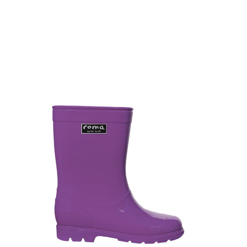 ABEL PURPLE KID'S RAIN BOOTS
