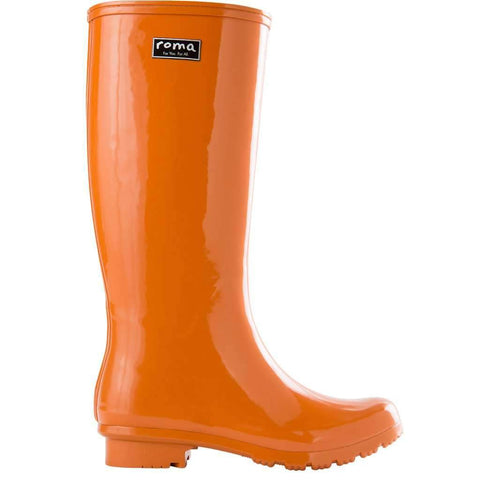 EMMA Classic Burnt Orange Women's Rain Boots