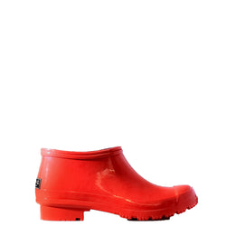 CLOG RED WOMEN'S RAIN BOOTS