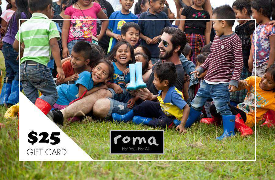 ROMA Boots Gift Card