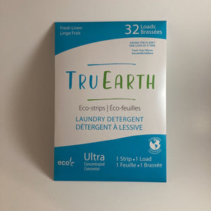 Eco-Strips Laundry Detergent in Fresh Linen by Tru Earth - 32 Loads