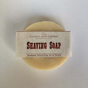Shaving Soap by Old Soul Soap Company