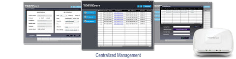 TEW-825AP AC1750 PoE+ Access Point Centralised Management Software