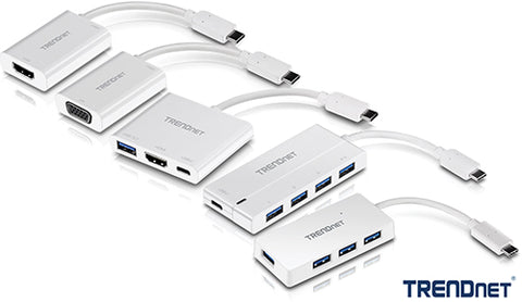 TRENDnet USB-C Adapters