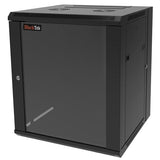 Blacktek 12RU Wall Mount Cabinet with Rear Swing Door