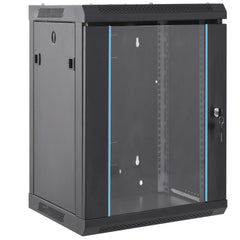 18RU Wall Mount Cabinet with Fans from Dueltek