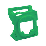 16R00NV001B-GR6Z Green Clipsal 30 Series Mech Bezel Adaptor for Keystone Jacks from AT&T Cabling Systems