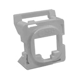 16R00NV001B-GY6Z Grey Clipsal 30 Series Mech Bezel Adaptor for Keystone Jacks from AT&T Cabling Systems