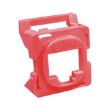 16R00NV001B-RD6Z Red Clipsal 30 Series Mech Bezel Adaptor for Keystone Jacks from AT&T Cabling Systems