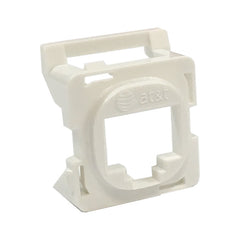 16R00NV001B-WT6Z White Clipsal 30 Series Mech Bezel Adaptor for Keystone Jacks from AT&T Cabling Systems