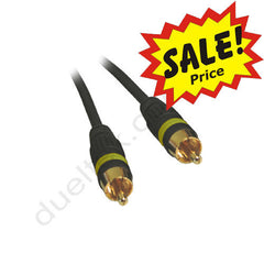 Composite Video RCA Coax Lead