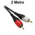 2 Metre RCA Stereo Audio Lead Dueltek 2RCA-02