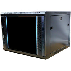8RU Wall Mount Data Cabinet with Fans