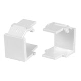 AT&T 10-Pack of White RJ45 Patch Panel Empty Port Cover - 57CNANV001N-WT6O