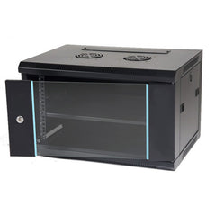 6RU Wall Mount Data Cabinet with Fans