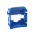 Blue Clipsal HPM Mech Bezel for Keystone Jacks ADP-CM-BEZEL-BL