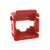 Red Clipsal HPM Mech Bezel for Keystone Jacks ADP-CM-BEZEL-RD