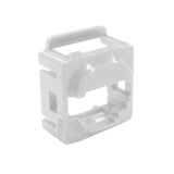 White Wall Plate Mech Bezel for Keystone Data Jacks ADP-CM-BEZEL-W