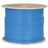 AT&T 500M Blue 23AWG Unshielded U/FTP CAT6A Cable Drum 11M6AHA004N-BL2K