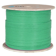 AT&T 500M Green 23AWG Unshielded U/FTP CAT6A Cable Drum 11M6AHA004N-GN2K