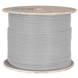 AT&T 500M Grey 23AWG Unshielded CAT6A Cable Drum 11M6AHA004N-GY2K