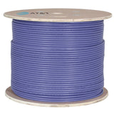AT&T 500M Purple 23AWG Unshielded U/FTP CAT6A Cable Drum 11M6AHA004N-PU2K