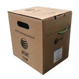 AT&T 305M Green 24AWG CAT6 Cable Reel-in-Box 11U06HA004T-GN3J