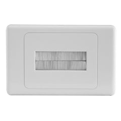 Brush Insert Wall Plate | BRUSHWP-W