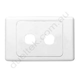 Clipsal Compatible Wall Plate - WP-2